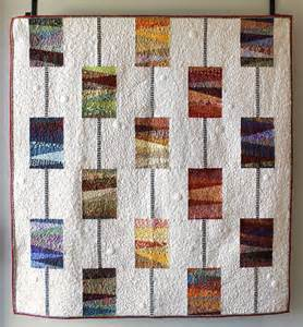 modern quilt pattern scrappy quilt quot on a string