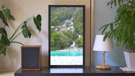 digital window videos atmoph window on a shelf