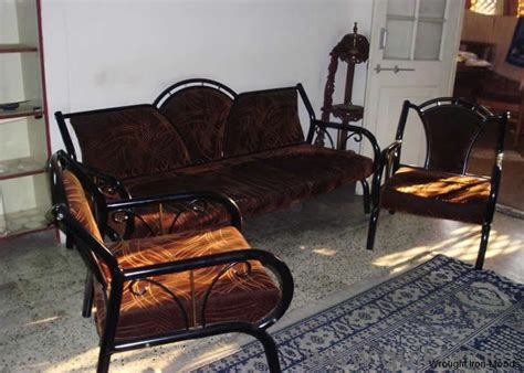 wrought iron sofa sets
