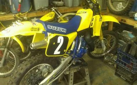 Vintage Suzuki Rm Parts Sell Suzuki Rm 125 Post Vintage Motorcycle In Joppa