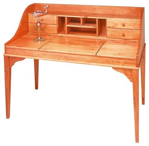 Unfinished Writing Desk by Renovator S Supply Shaker Unfinished Solid Pine Writing