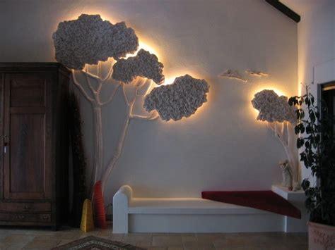 Bild Indirekt Beleuchten by Objekt Baum Styropor Holz Gips Farbe Wohnraum