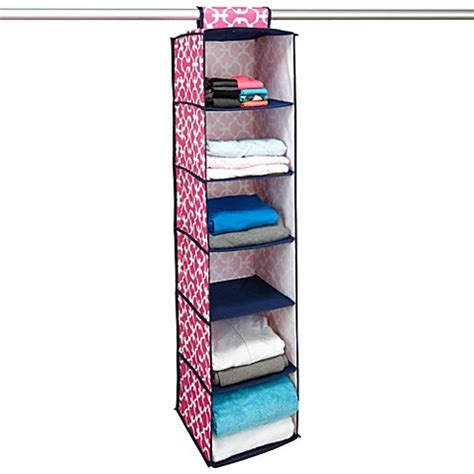 Bed Bath And Beyond Closet Organizer by Buy Hanging Closet Organizer S From Bed Bath Beyond