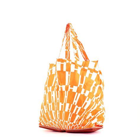 Reusable Shopper Hermes Silky Pop Handbag by Herm 232 S Silky Pop Handbag 322693 Collector Square