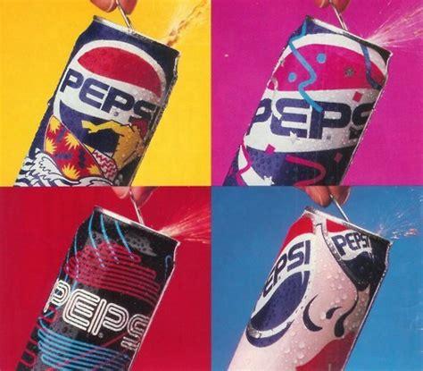 1990s design pepsi can designs