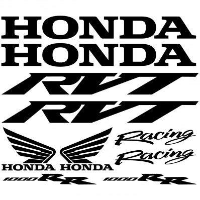 Honda Vtr Aufkleber by Wandtattoos Folies Honda Vtr Sp1 Aufkleber Set