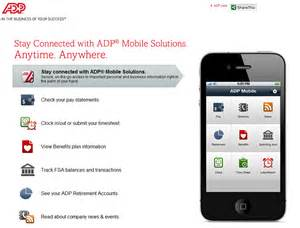 Adp employee portal adp mobile app