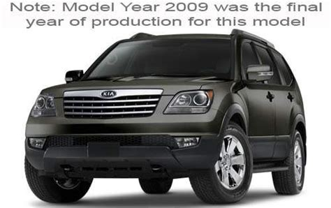2009 Kia Borrego Transmission Problems Maintenance Schedule For 2009 Kia Borrego Openbay