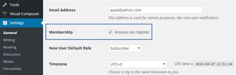 Newspaper Theme Login | how to enable the user registration in newspaper theme