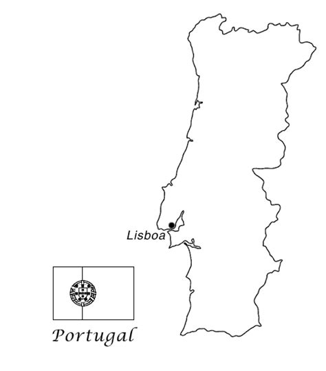 of portugal coloring pages