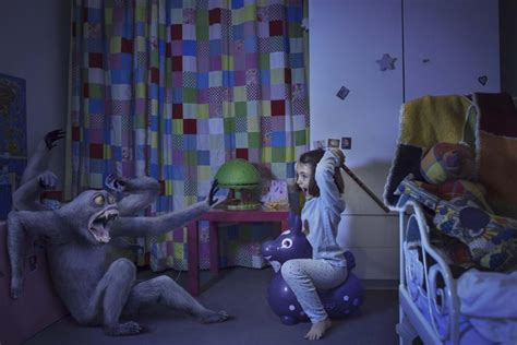 monster bedroom monster fighting kids star in photos against abuse ny daily news