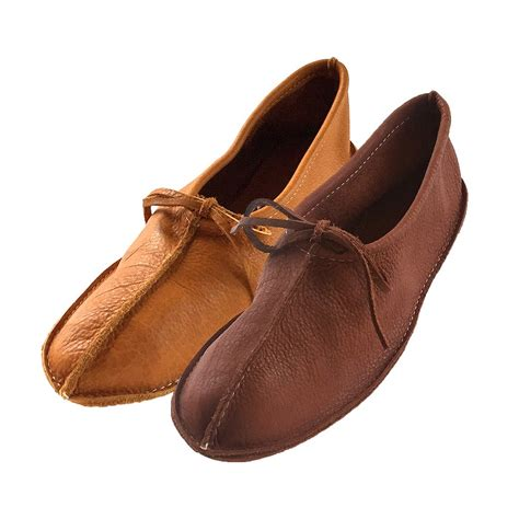 are moccasins slippers s genuine buffalo hide ballet style soft sole