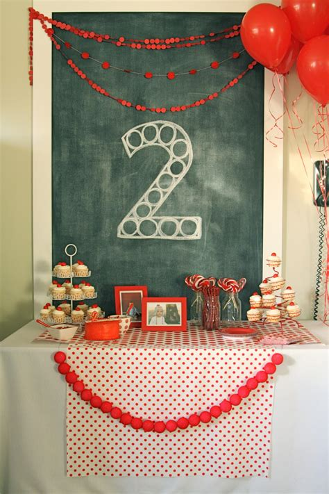 birthday themes for 2 year old red ball party levi s second birthday 187 the macs