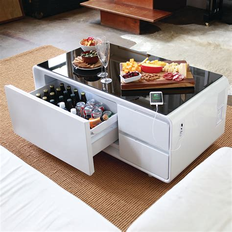 coffee table with plugs track sobro a cooler coffee table s indiegogo caign