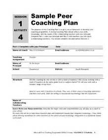 Coaching Plan Template For Teachers by Best Photos Of Sle Coaching Development Plan Employee
