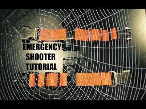 Tutorial Web Shooter   emergency web shooter tutorial youtube
