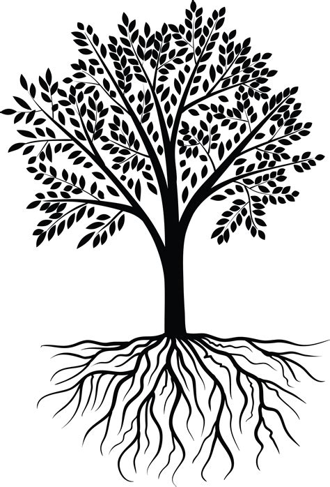Tree Of Life Png Black And White & Free Tree Of Life Black