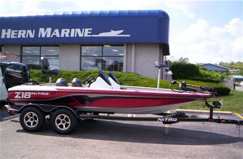 boats for sale fairfield ohio new 2016 nitro z18 for sale in fairfield ohio 2223764
