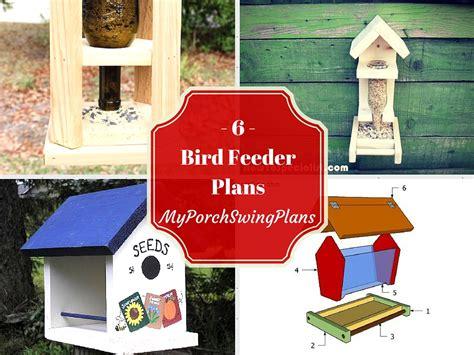 Bird Feeder Designs 6 Free Bird Feeder Plans Free Porch Swing Plans How To