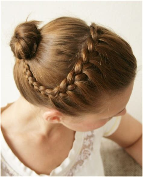 cute everyday hairstyles tutorials braided updo hairstyles tutorials cute bun updos for