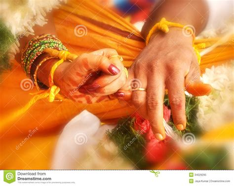 colour full dp wedding hands in india marriage stock image image 34029295