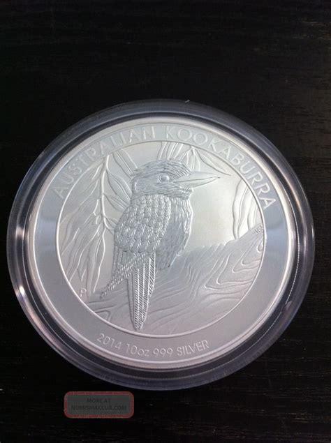 10 oz 2014 australian kookaburra silver coin 2014 kookaburra 10 oz silver bullion coin perth australia