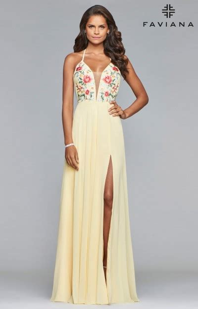 Yellow Prom Dresses   Formal Gowns   Sexy, Homecoming, Cheap