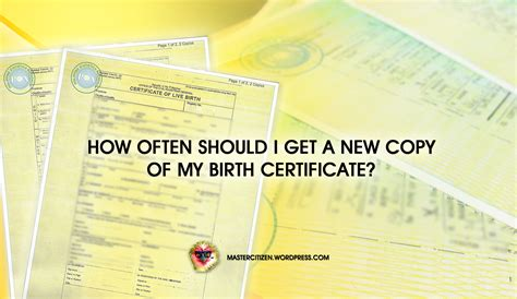 How Do I Get A Copy Of My Criminal Record In Massachusetts How Often Should I Get A New Copy Of My Birth Certificate