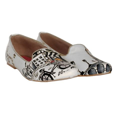Sepatu Wanita Flat Model Baru Barang Import Cantik Murah 1 sepatu lukis loafer abu