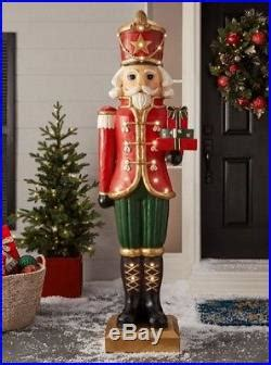 ft nutcracker figures large life size tall statue