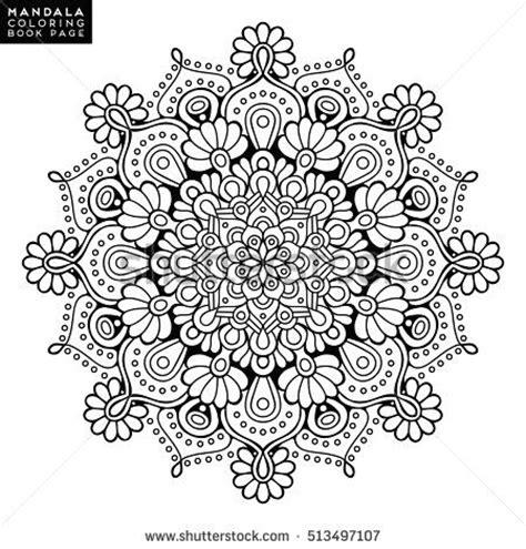 mandala coloring book purpose best 25 indian mandala ideas on