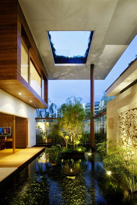 cool  amazing indoor courtyards  digsdigs