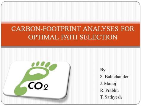 gis powerpoint templates carbon footprint using gis authorstream