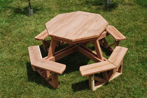 octagon picnic table for sale octagonal picnic table