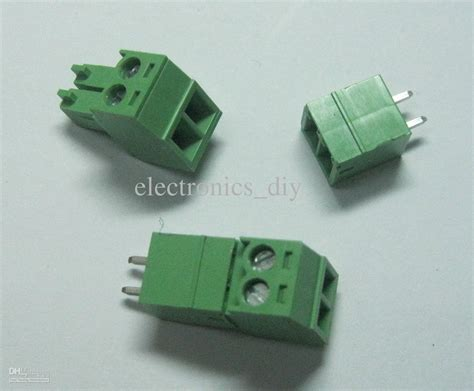 Terminal Block Terminal Blok In 12bk 20a 2 Pole 2pin way pitch 3 5mm terminal block connector green color t type with pin with 39