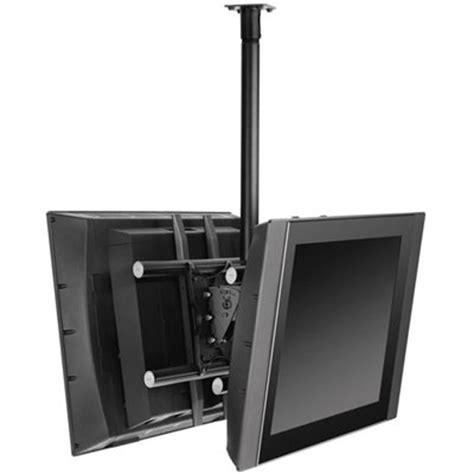 Dual Monitor Ceiling Mount by Ergotron 60 622 Neo Flex Ceiling Mount For Two Large Lcd