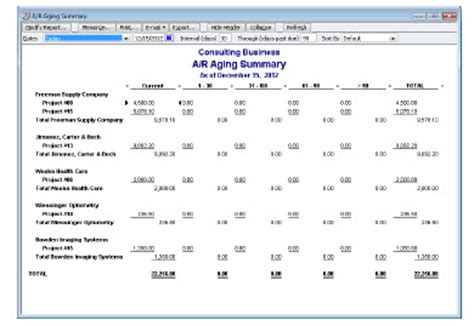 Aging Report For One Customer In Quickbooks by Follow The Money With Quickbooks Followthemoney
