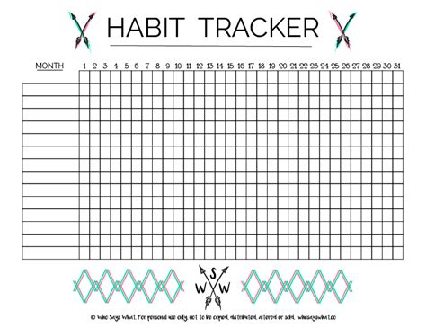 printable habit tracker 12 healthy habits for better and simpler living you need