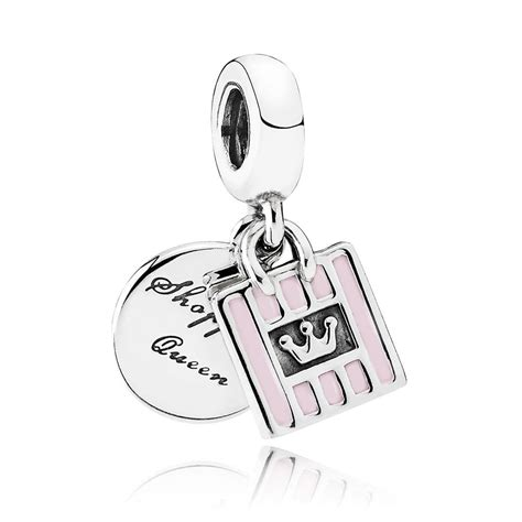 Shopping Charm Necklace pandora shopping pendant charm 791985en40