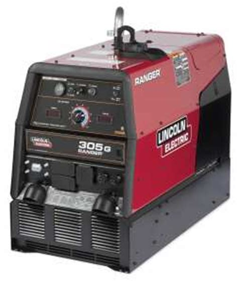 lincoln electric ranger 305 g gas welder generator lnc