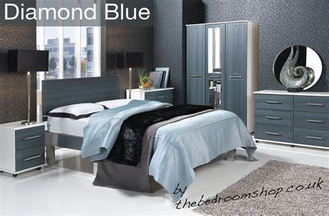 white modern assembled bedroom furniture with uk delivery