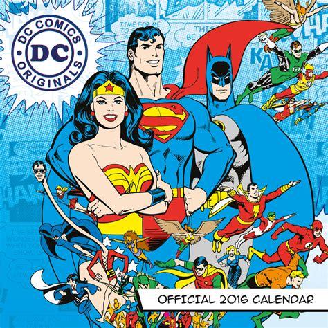Calendar 2018 Batman Dc Comics Calendars 2018 On Europosters