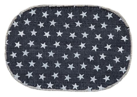 Oblong Nevy multi navy oval cotton rug 20 quot x 30 quot