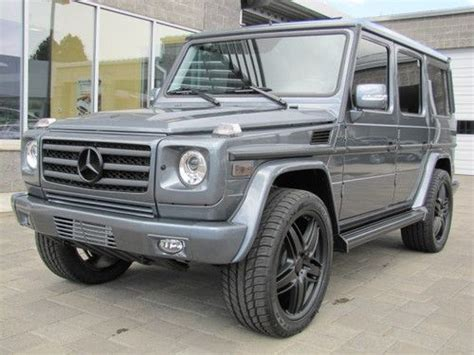 customized g wagon buy used 2012 mercedes benz g 550 custom blacked out g