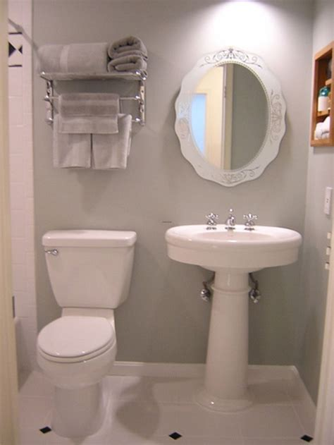 Ideas For Decorating A Small Bathroom Small Bathroom Design Ideas Bathroom Tinkerings Pinterest