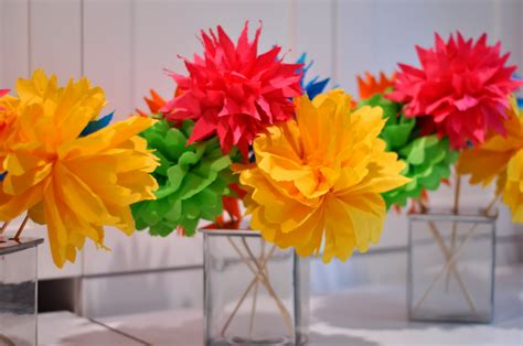 Craft Paper Flowers - aesthetic nest craft quot flirty quot flower bouquets