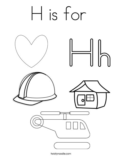 coloring pages of the letter a letter h coloring letter a coloring h is for coloring page twisty noodle