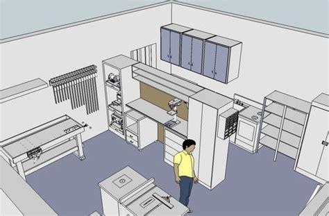 Garage Workshop Layout by 2 3s Workshop Garage Design Layout And Keep The Misses