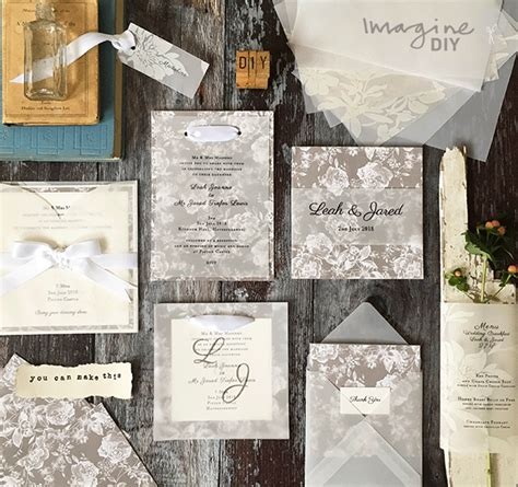 How To Make Vellum Paper - how to make gorgeous vellum wedding stationery