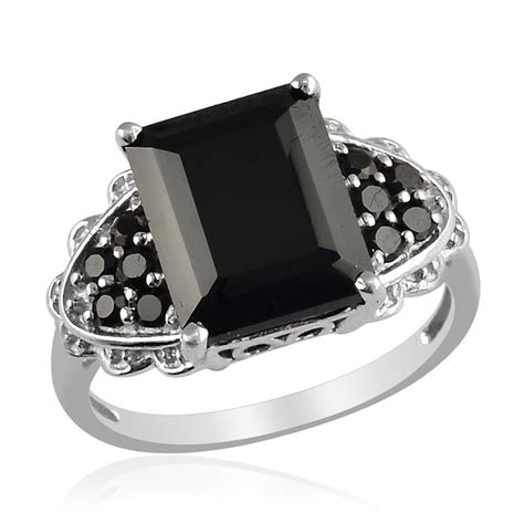 Channel Black Nickel 117 best black spinel jewelry images on black